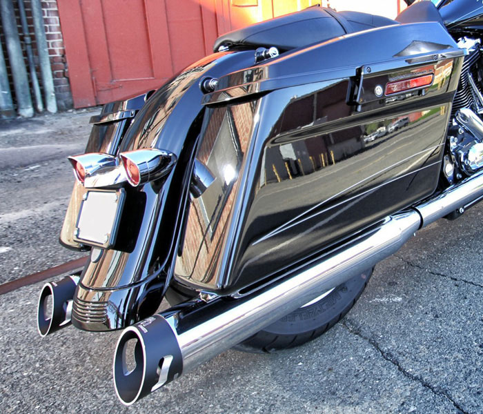 Special Ops and Black Ops Slip-On Mufflers - Fits both 1 ¾