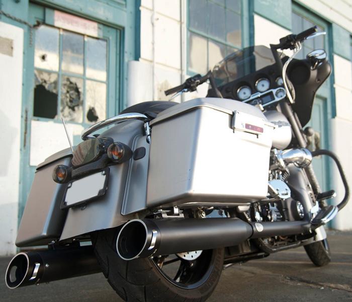 Area 51 Black Harley Mufflers