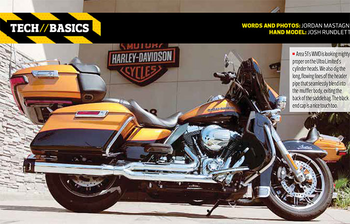 Tech Specs Baggers Magazine 2into1 Install