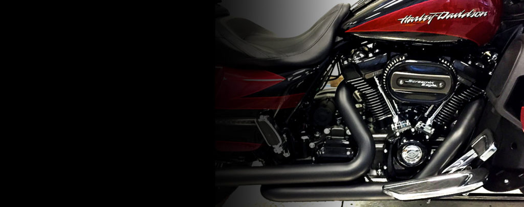 Area 51 Harley-Davidson Dual Exhaust Systems
